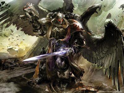 Angel oscuro marine wikihammer