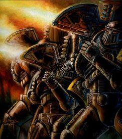 Guerreros de hierro preherejia lanzacohetes