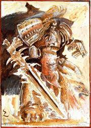 Leman Russ John Blanche boceto
