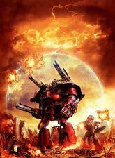 Mechanicus titan warlord escudo energia