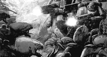 Batalla por macragge ultramarines tiránidos warhammer 40k wikihammer