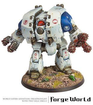 Dreadnought Leviathan Devoradores de Mundos Taladros de Asedio
