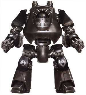 Urien Dreadnought Contemptor-Mortis Clan Vurgaan Legión Manos de Hierro