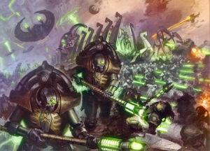 Pretorianos de la Triarca Despertar Guardia Imperial Ejercito Necron Wikihammer