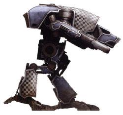 Titán Warhound de la Legio Tempestor 2