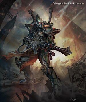Guardián Eldar 40k