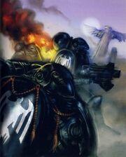 Marines guardia del cuervo armadura mkVI
