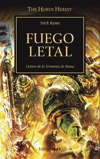 Novela fuego letal