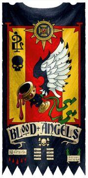Simbolo estandarte angeles sangrientos 2 compañia
