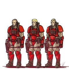 The blood angels scouts by rumbles-d3dh10s