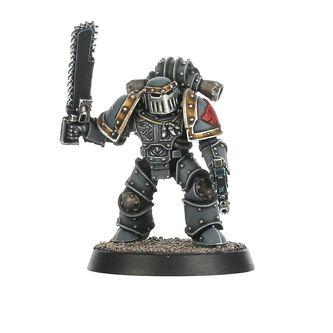 Veterano Táctico Legión Lobos Espaciales Mk III Ferrum espada sierra