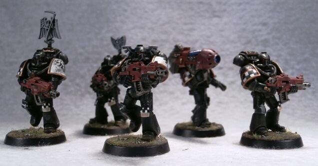 Escuadra de Combate Táctica Maximus Ángeles Oscuros