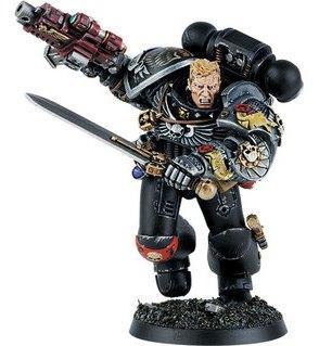 Miniatura Guardianes de la Muerte Capitan de la Guardia Artemis Mortificadores Ordo Xenos Wikihammer