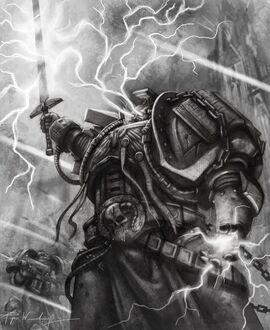 Bibliotecario Marines Espaciales warhammer 40k wikihammer
