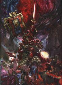 Caos Angeles Sangrientos Slaanesh Khorne Warhammer 40k Wikihammer Blood Angels Space Marines