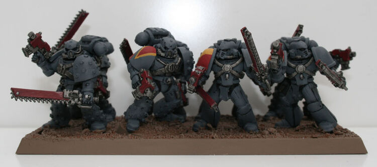 Escuadra Despojadora (Garras Sangrientas) Lobos Espaciales