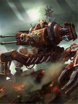 Profanador caos vehículo araña warhammer 40k wikihammer
