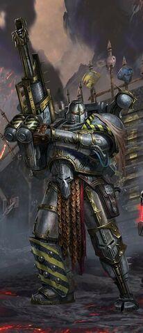 Caos guerreros de hierro devastador