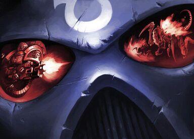 Guardianes de la Muerte Yelmo Ultramarines Marine Devastador Bolter de Asalto Tiranidos Reflejo Ordo Xenos Wikihammer