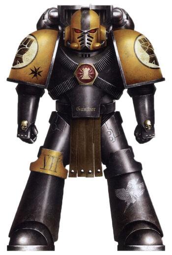 Gunther Marine de Asalto Legión Puños Imperiales