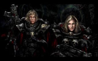 Sororitas 2 hermanas batalla