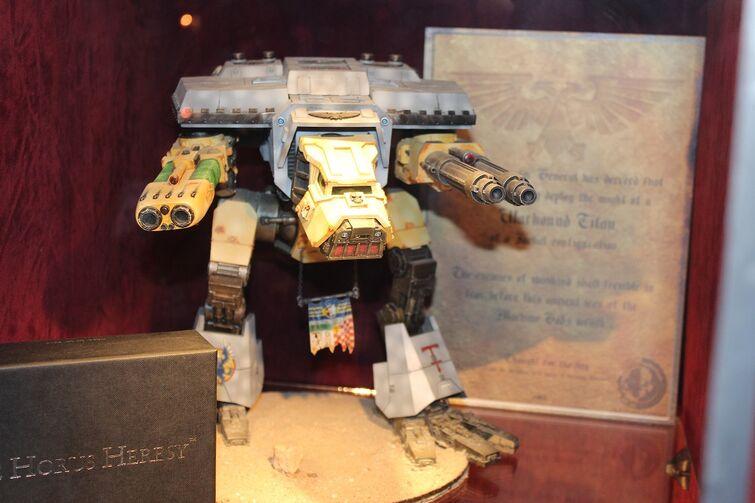 Warhammer World Nottingham Wikihammer Titán Warhound