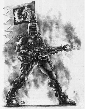 Dragón Llameante Eldar 2ª Edición Mark Gibbons ilustración