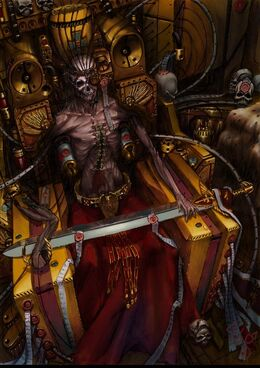 Emperador en trono dorado Wikihammer 40k