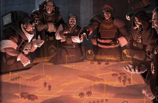 Gi holograma planificacion batalla