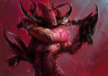 Guardián Secretos Demonio Slaanesh Warhammer 40k Wikihammer