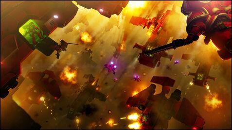 Marines angeles sangrientos asalto aerotransportado