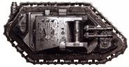 Wyvern Land Raider Proteus Manos de Hierro FW ilustración