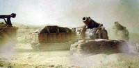 Bombard y sus vehículos de apoyo