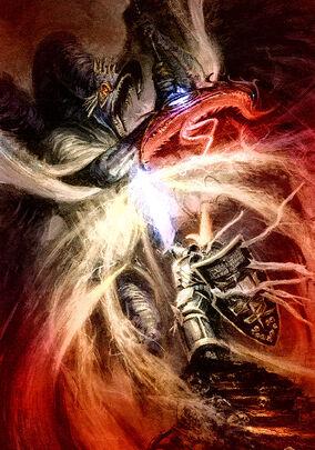 Kaldor Draigo vs Señor de la Transformación M'Kachen