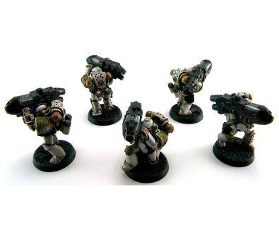 Pre herejía Guardia de la muerte Mk4 apoyo pesado