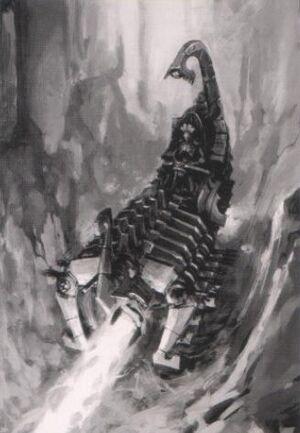 Arca del Exterminio Cañón de Exterminio Vehiculos Necron Wikihammer