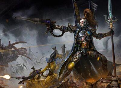 Eldar principe yriel vs tiranidos