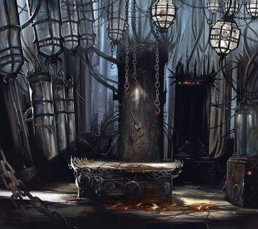 Eldars oscuros hemonculo laboratorio