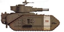 Macharius del 14º Regimiento de Tanques de los Korps de la Muerte de Krieg
