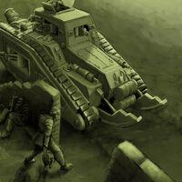 Malcador Defensor y Guardia con cargas