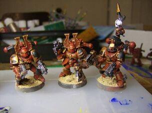 Berserkers Khorne Caos Warhammer 40k Wikihammer