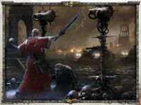 Eclesiarquia predicador tropas valhalla wikihammer