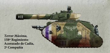 Guardia Imperial tanque leman russ vanquisher cadia