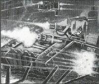Land Raider Cruzado Templarios Negros 3ª Edición ilustración