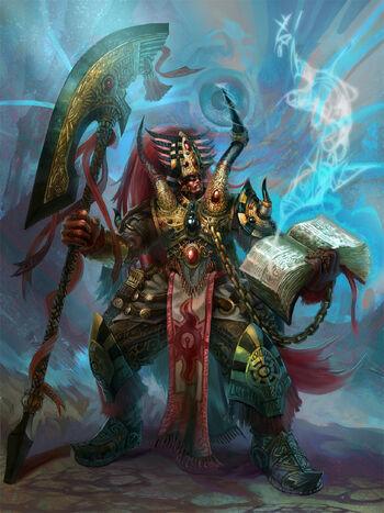 Primarca Magnus el Rojo Wikihammer 40k