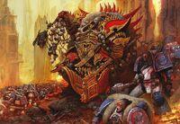 Angron Señor de los Devoradores de Mundos Gran Cruzada