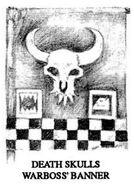 Estandarte Kaudillo Kráneo de Muerte