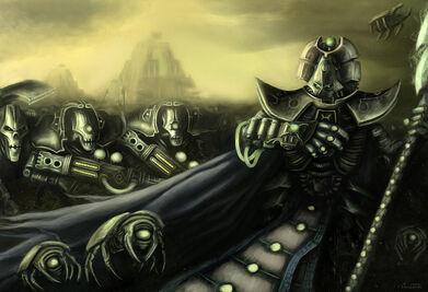 Phaeron Imotekh Lider Supremo Necron Schrodinger Wikihammer