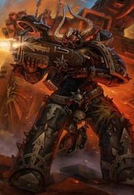 Caos marine legion negra disparando