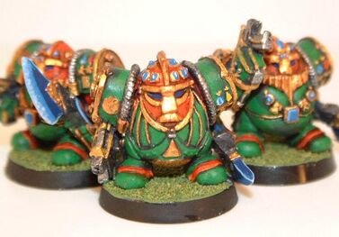 Scuat caos armadura